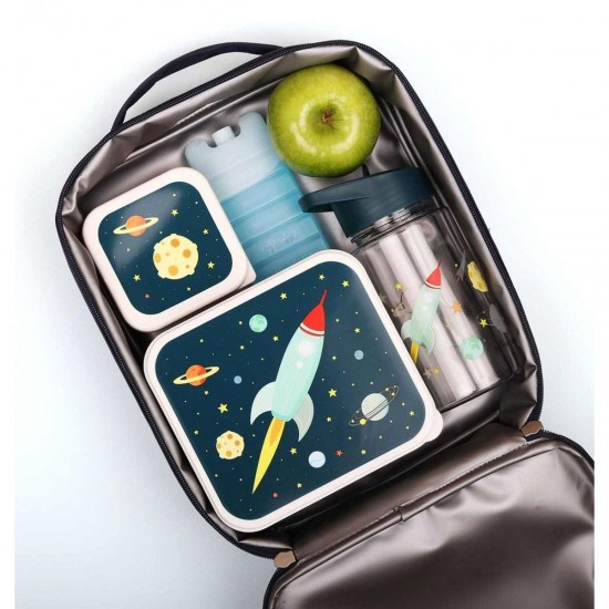 A Little Lovely Company Ισοθερμική τσάντα φαγητού Space