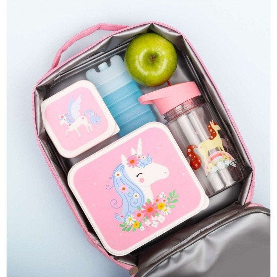 A Little Lovely Company Ισοθερμική τσάντα φαγητού Unicorn