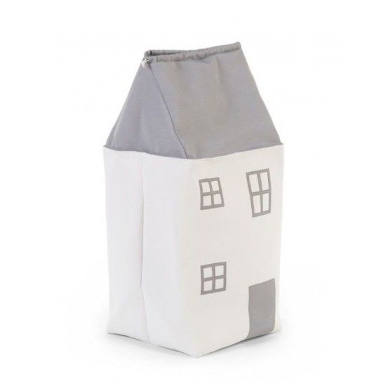 Childhome Σάκος Αποθήκευσης Παιχνιδιών Toy Box House 73x32x32