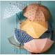 Fresk Ομπρέλα από ανακυκλώσιμα υλικά - Indigo dots