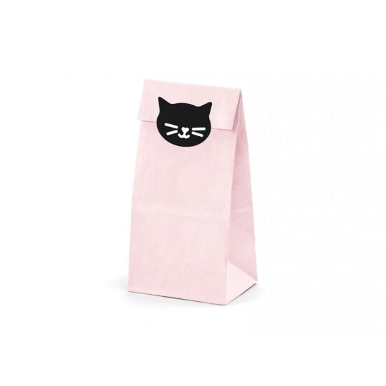 PartyDeco Σακουλάκια Για Δώρα - Cat