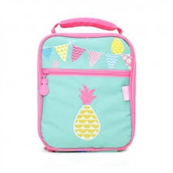 """Penny Scallan Θερμομονωτική τσάντα φαγητού Μεγάλη """"Pineapple Bunting"""""""