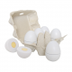 Jabadabado Ξύλινα αυγά σε πακέτο