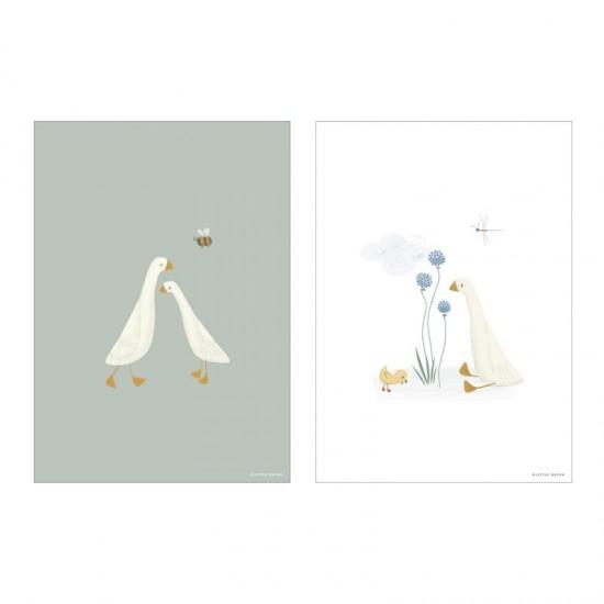 Little Dutch Poster A3 Little Goose